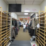 The Shirdi Sai Mandir, Toronto - Shoe and Jacket Racks